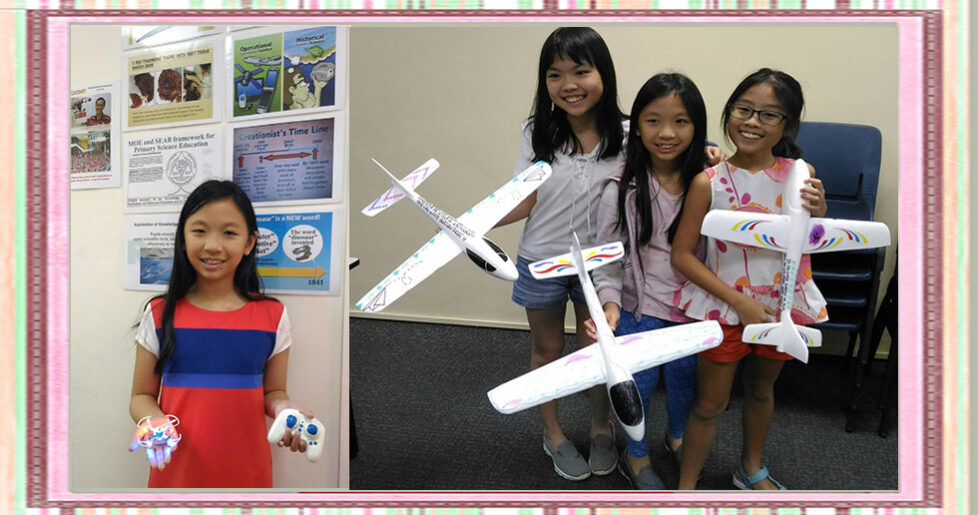 Girls with Drones and Gliders